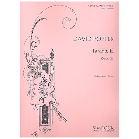 Popper, D.: Tarantella Op. 33
