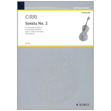 Cirri, G.B.: Sonata No. 2 G-Dur