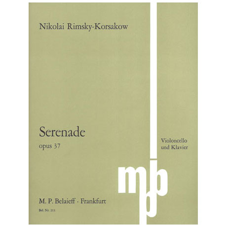 Rimski-Korsakow, N. A.: Serenade Op. 37