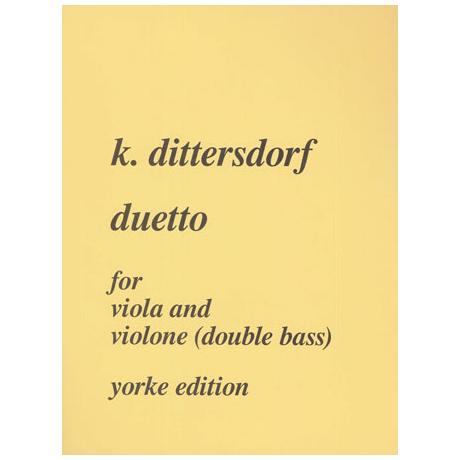 Dittersdorf, K.D.v.: Duetto Es-Dur