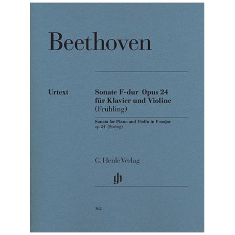 Beethoven, L.v.: Sonate F-Dur Op. 24 (Frühlingssonate)