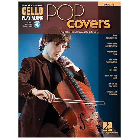 Pop Covers – Cello Play Along 5 (+Online Audio)