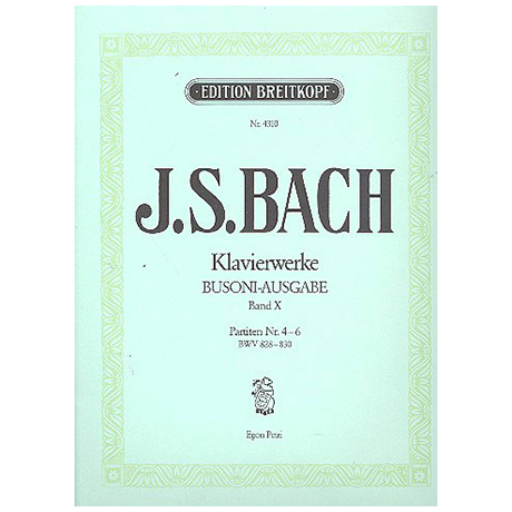 Bach, J.S.: Partiten Nr. 4-6 BWV 828-830