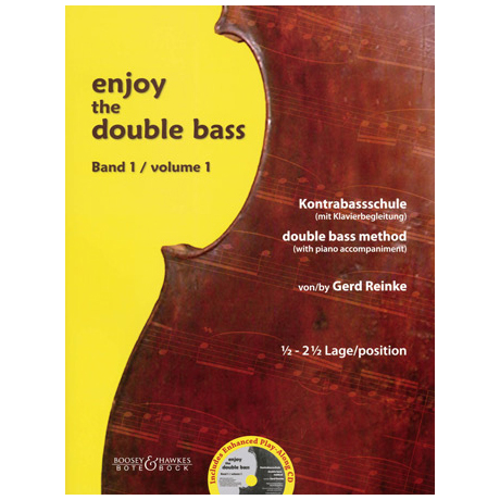 Reinke, G.: Enjoy the double bass Band 1 (+CD)