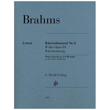 Brahms, J.: Klavierkonzert Nr. 2 B-Dur Op. 83
