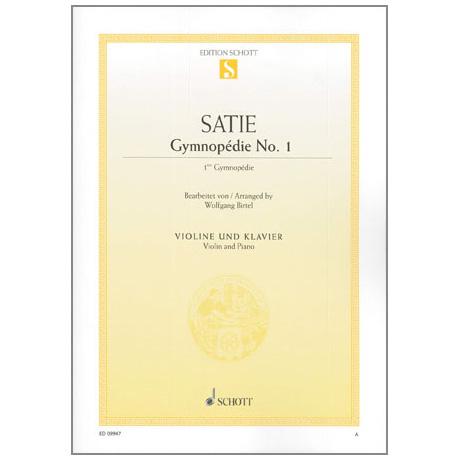 Satie, E.: Gymnopedie Nr. 1