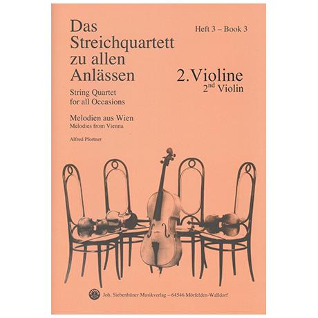Das Streichquartett zu allen Anlässen Band 3 – Violine 2