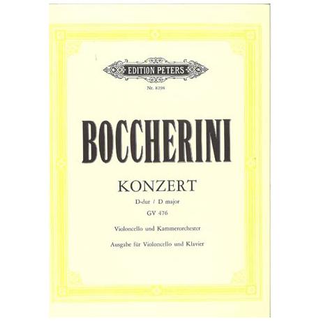 Boccherini, L.: Cellokonzert D-Dur GV 476
