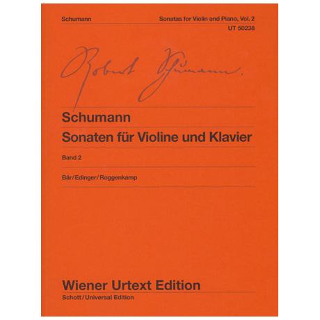Schumann, R.: Violinsonaten Band 2