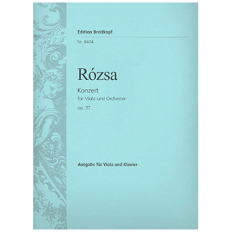 Rozsa, M.: Violakonzert Op. 37 (1981/82)