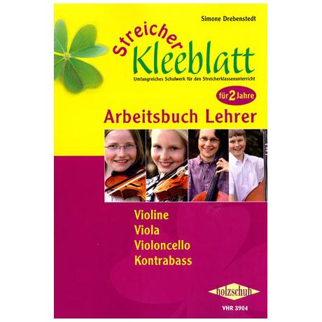 Streicher Kleeblatt – Arbeitsbuch für Lehrer