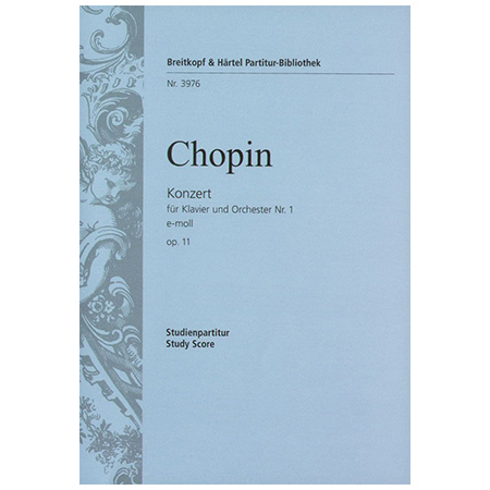 Chopin, F.: Klavierkonzert Nr. 1 e-Moll Op. 11