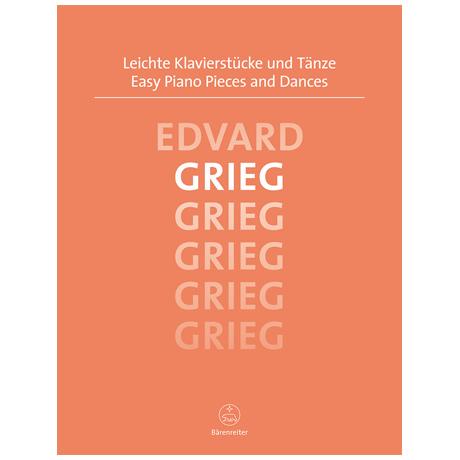Grieg, E.: Leichte Klavierstücke und Tänze