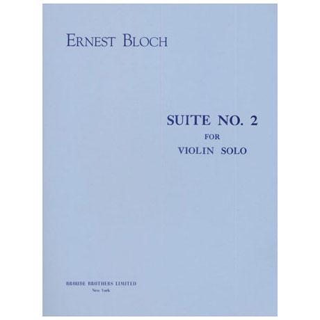 Bloch, E.: Suite Nr. 2