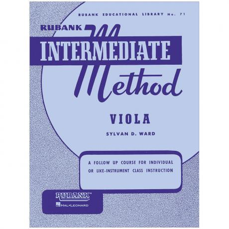 Rubank Intermediate Method for Viola