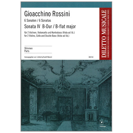 Rossini, G. A.: Sonata Nr. 4 B-Dur – Stimmen