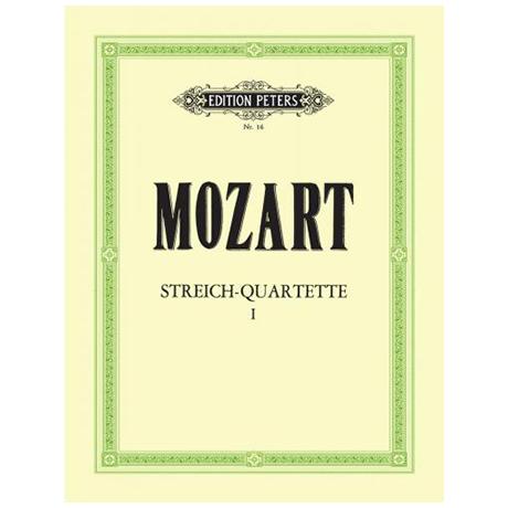 Mozart, W.A.: Streichquartette Band 1