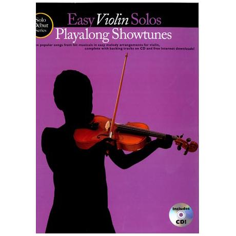 Solo Debut: Playalong Showtunes - Easy Violin Solos (+CD)