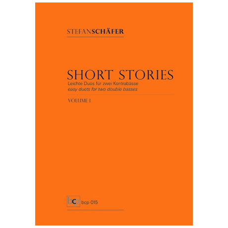 Schäfer, S.: Short Stories Band 1