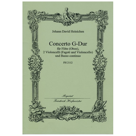 Heinichen, J. D.: Concerto G-Dur