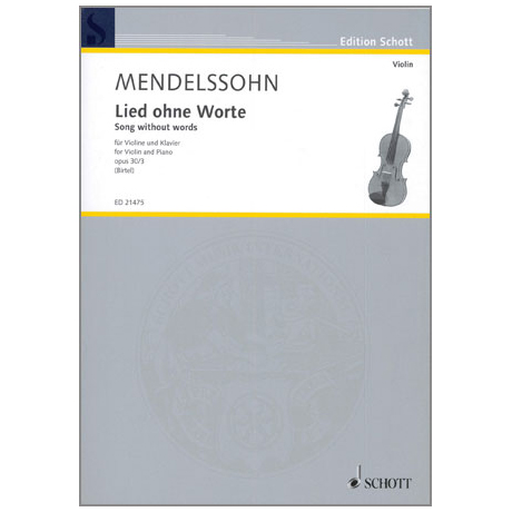 Mendelssohn Bartholdy, F.: Lied ohne Worte Op. 30/3