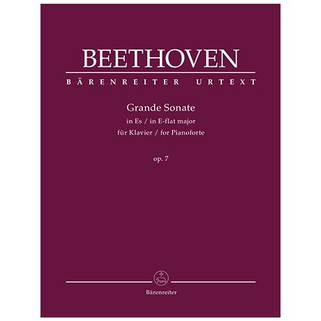Beethoven, L. v.: Grande Sonate Op. 7 Es-Dur