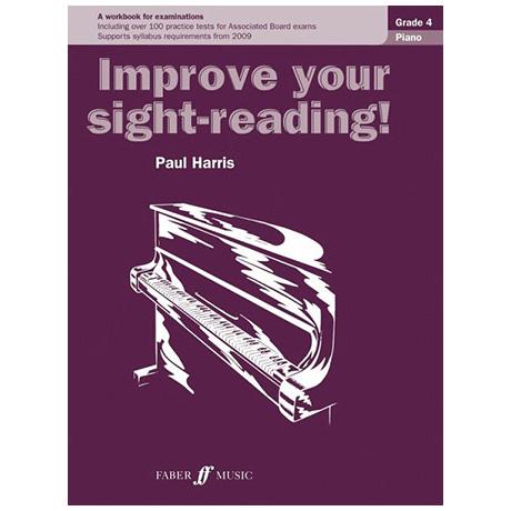 Harris, P.: Improve your sight-reading! Piano Grade 4
