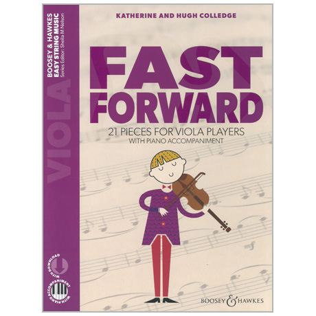 Colledge, K. & H.: Fast Forward for Viola (+Online Audio)