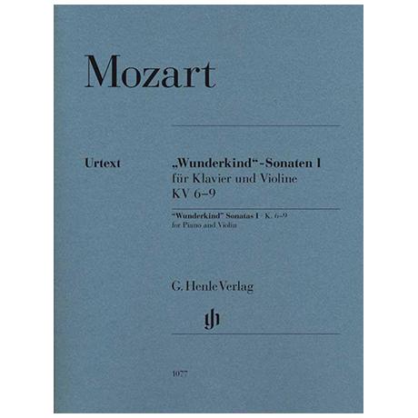 Mozart, W. A.: »Wunderkind«-Sonaten Band I KV 6-9