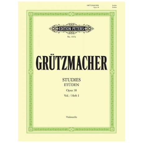 Grützmacher, F.W.: Technologie Op. 38 Bd.1: 12 Studien ohne Daumenaufsatz