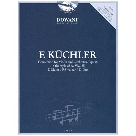 Küchler, F.: Concertino im Stil von Vivaldi (+CD) Op. 15