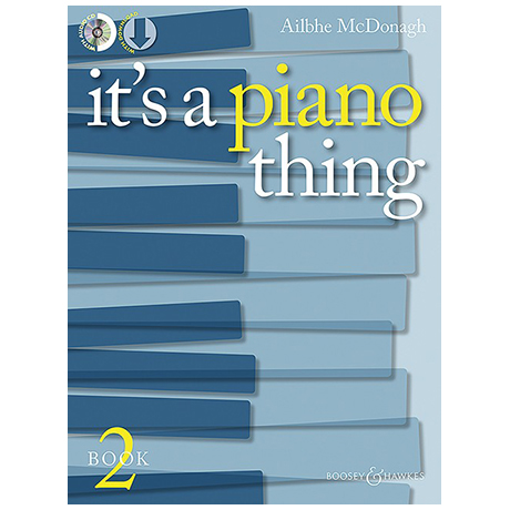 McDonagh, A.: It's A Piano Thing Book 2 (+CD)
