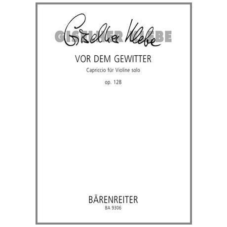 Klebe, G.: Vor dem Gewitter Op. 128