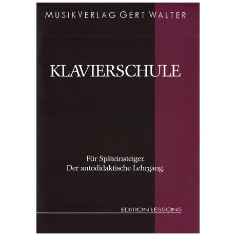 Walter, G.: Klavierschule für Späteinsteiger