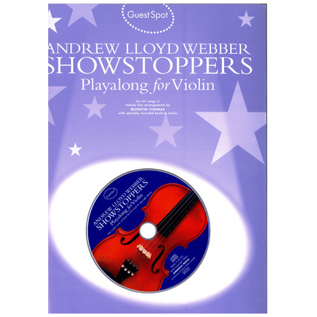 Andrew Lloyd Webber Showstoppers Playalong For Violin (+CD)