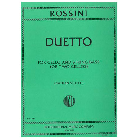Rossini, G. A.: Duetto D-Dur