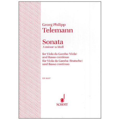 Telemann, G. Ph.: Sonate a-moll TWV41: a 6