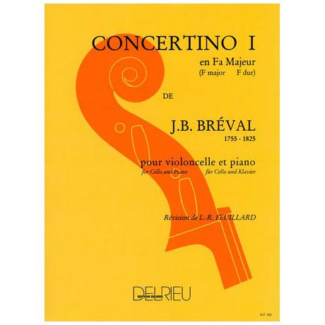Bréval, J. B.: Concertino Nr. 1 F-Dur