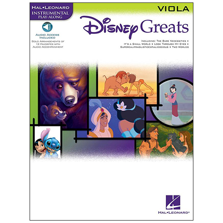 Disney Greats for Viola (+Online Audio)