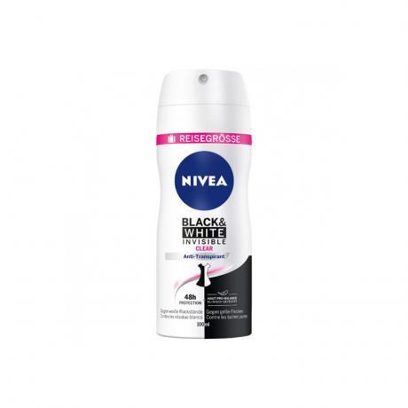 NIVEA Deo Spray Antitranspirant Black&White Invisible, 100 ml