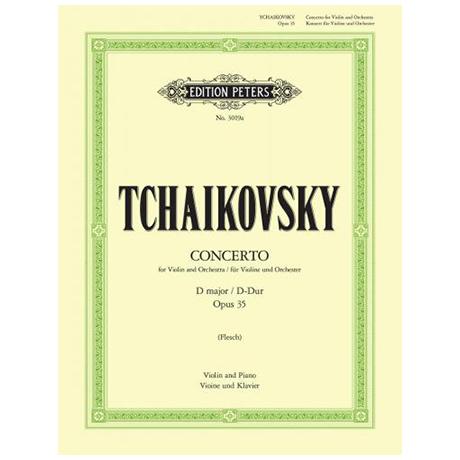 Tschaikowski, P. I.: Violinkonzert Op. 35 D-Dur (Flesch)