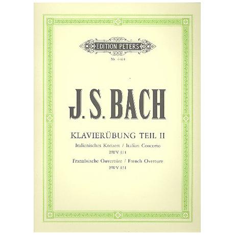 Bach, J.S.: Ital. Konzert, Franz. Ouverture (Partita h-moll) BWV 971, 831