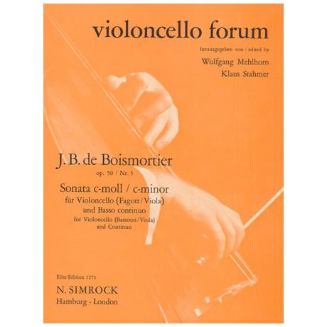 Boismortier, J. B. d.: Sonate Op.50 Nr.5 c-Moll