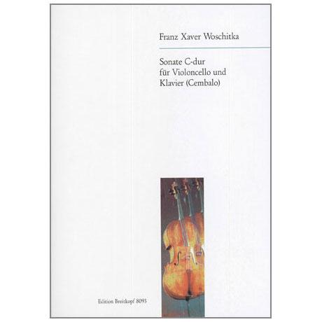 Woschitka, F. X.: Sonate C-Dur