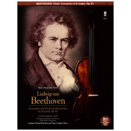 Beethoven: Violinkonzert D-Dur op.61 (+3CDs)