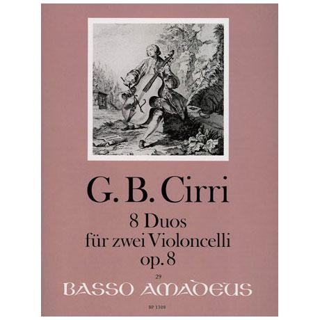 Cirri, G.B.: 8 Duos Op.8
