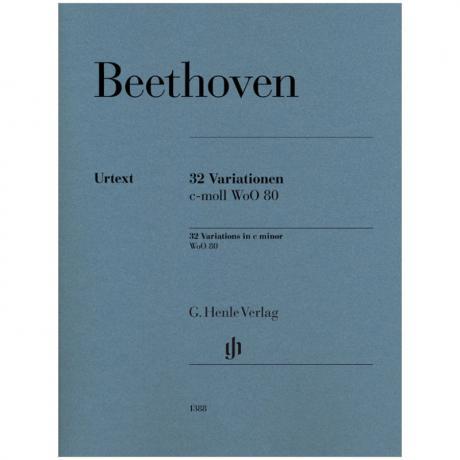 Beethoven, L. v.: 32 Variationen WoO 80 c-Moll