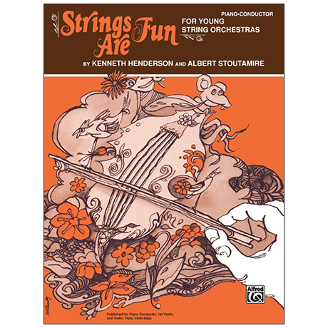 Strings Are Fun – Partitur/Klavier