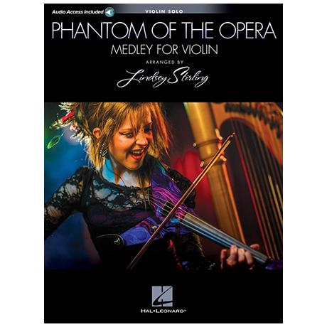 Lindsey Stirling/Andrew Lloyd Webber: Phantom of the Opera Medley (+Online Audio)