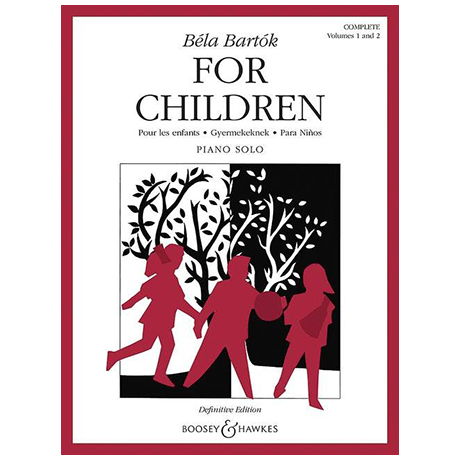 Bartók, B.: Für Kinder – Komplettausgabe
